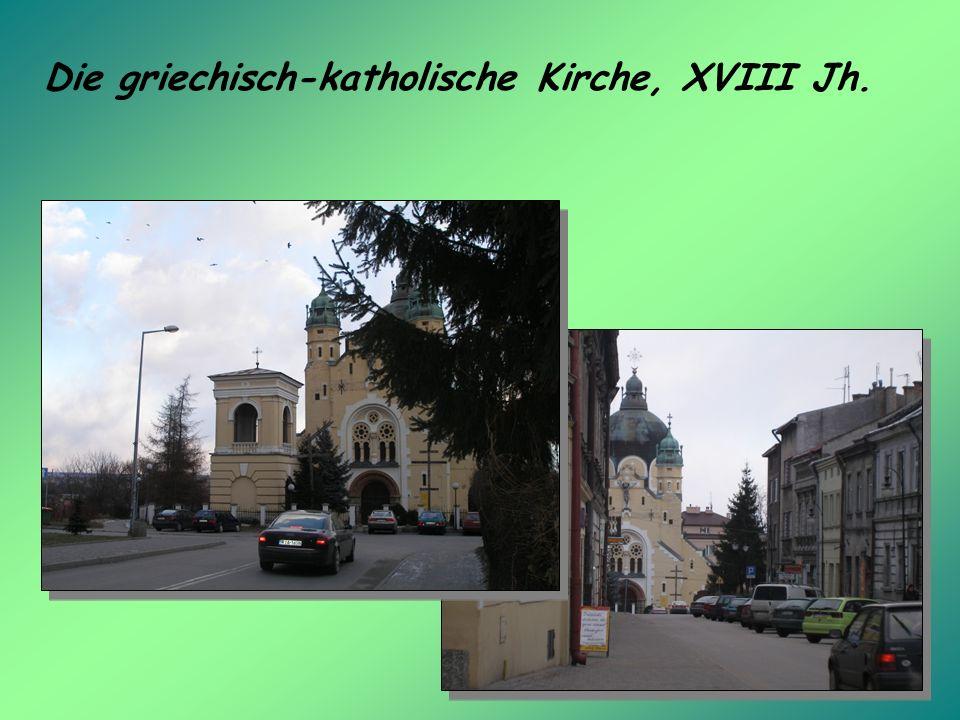 Die griechisch-katholische Kirche, XVIII Jh.