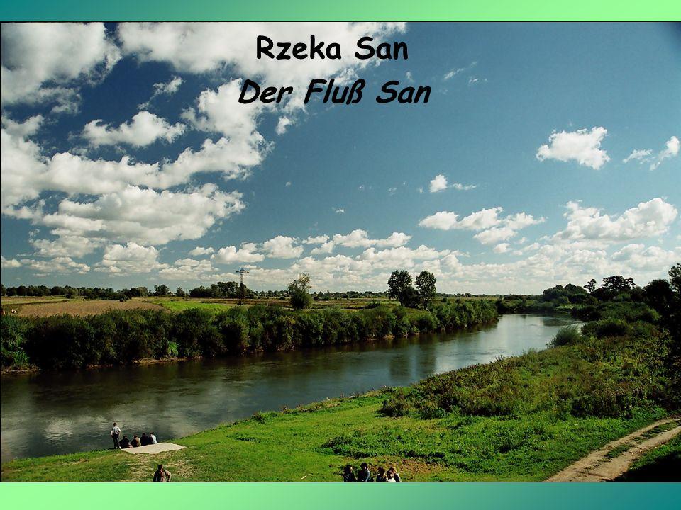 Rzeka San Der Fluß San