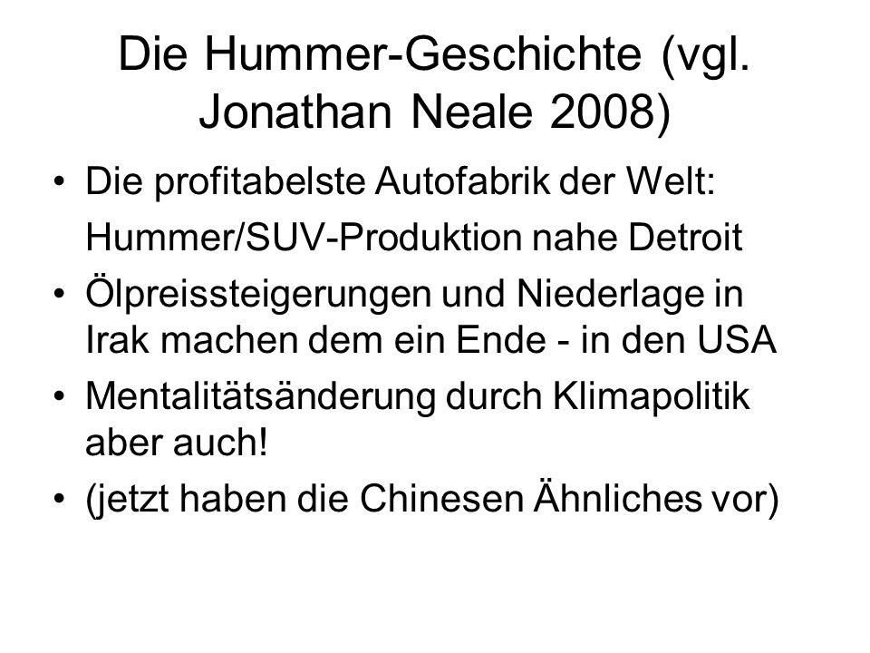 Die Hummer-Geschichte (vgl.