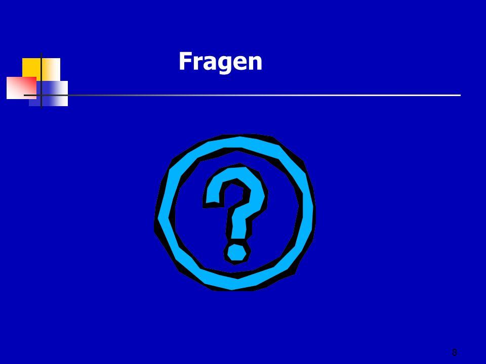 8 Fragen