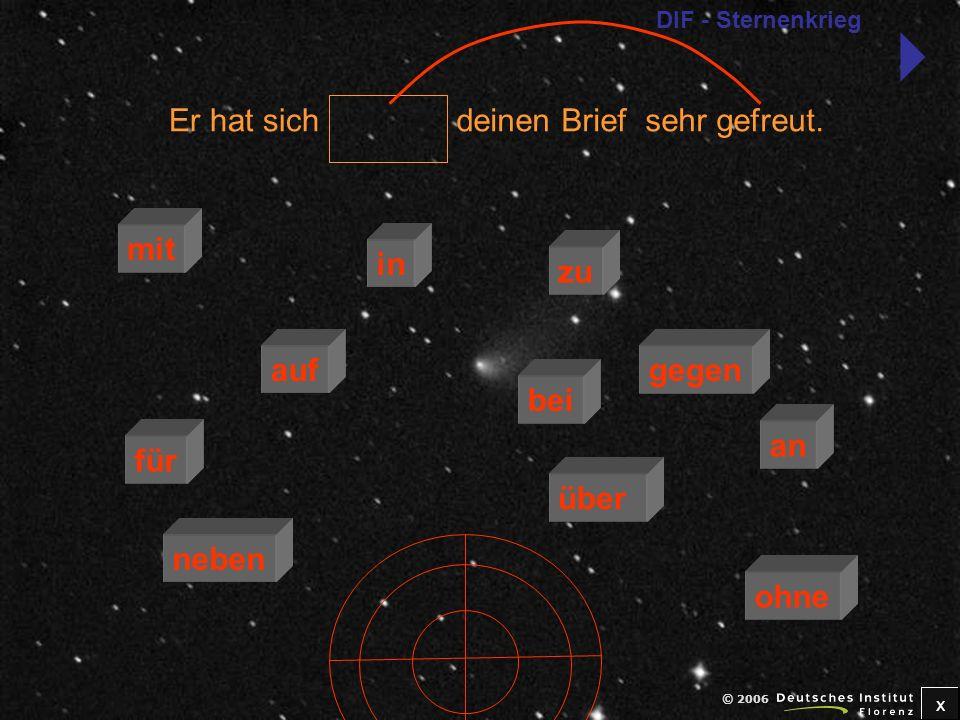 x © 2006 Berlin entschieden.Ich habe mich für zu über mit an bei auf neben in gegen ohne DIF - Sternenkrieg