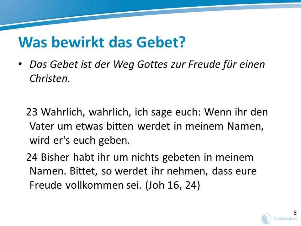 17 Zitate von Betern Georg Müller (1805-1898) In seinen Tagebüchern hat man die Berichte von rund 52.000 Gebetserhörungen gefunden.
