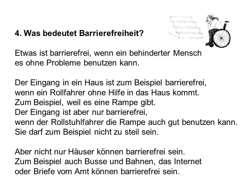 Textbeispiel Das Gleichstellungs-Gesetz In Bremen gibt es ein Gesetz. Das Gesetz heißt Bremisches Gesetz zur Gleichstellung von Menschen mit Behinderu