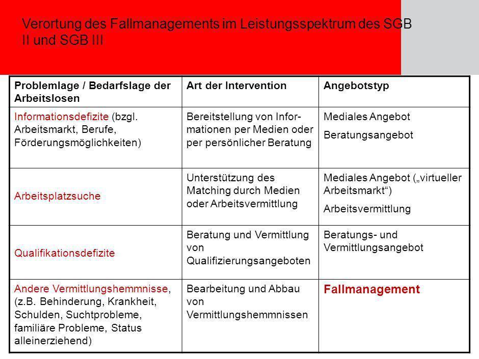 Seite Julia Bartel, 15.11.2005 12 Beschäftigungsorientiertes Fallmanagement: Gesetzliche Grundlagen Fallmanager: spezifische Ausprägung des persönlich