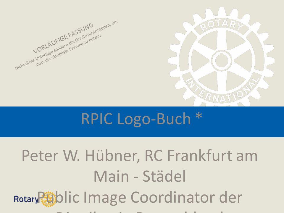 RPIC Logo-Buch * Peter W.