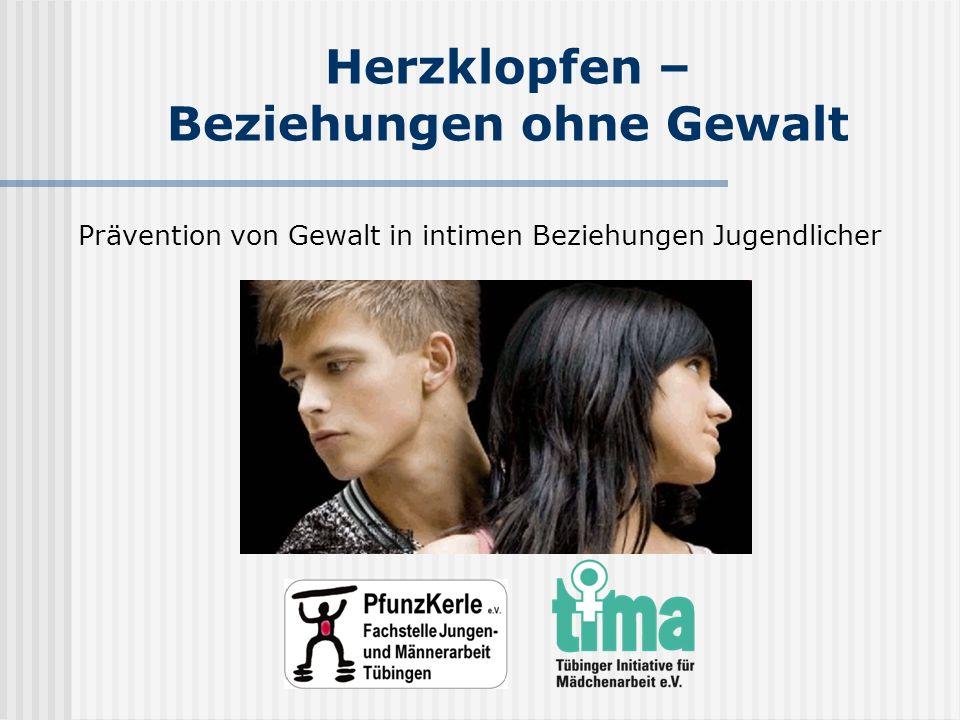 Herzklopfen – Beziehungen ohne Gewalt Prävention von Gewalt in intimen Beziehungen Jugendlicher