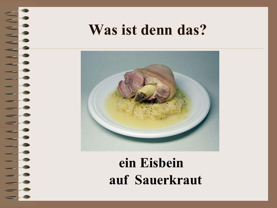 Wie sieht die deutsche Küche aus? Essgewohnheiten Getränke Regionale Küche