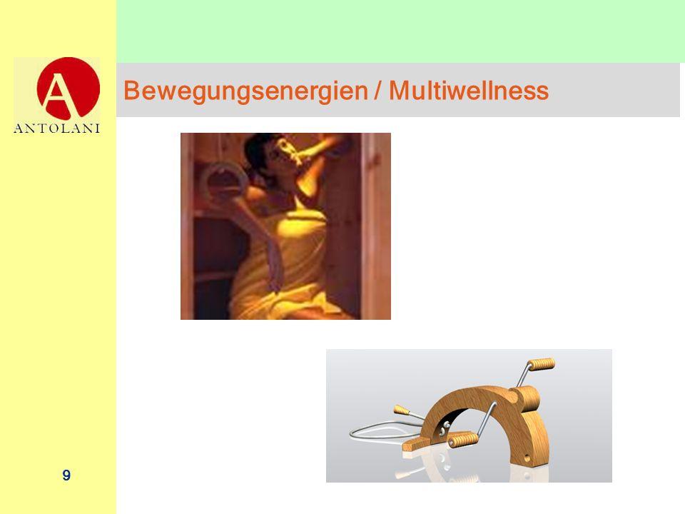 9 Bewegungsenergien / Multiwellness