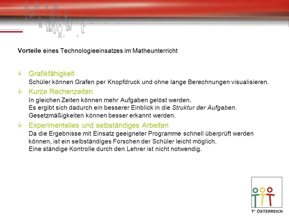 Anforderungen an ein geeignetes Softwarepaket Textverarbeitung mit integrierten mathematischen Fähigkeiten.