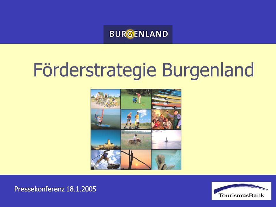 Förderstrategie Burgenland Pressekonferenz 18.1.2005