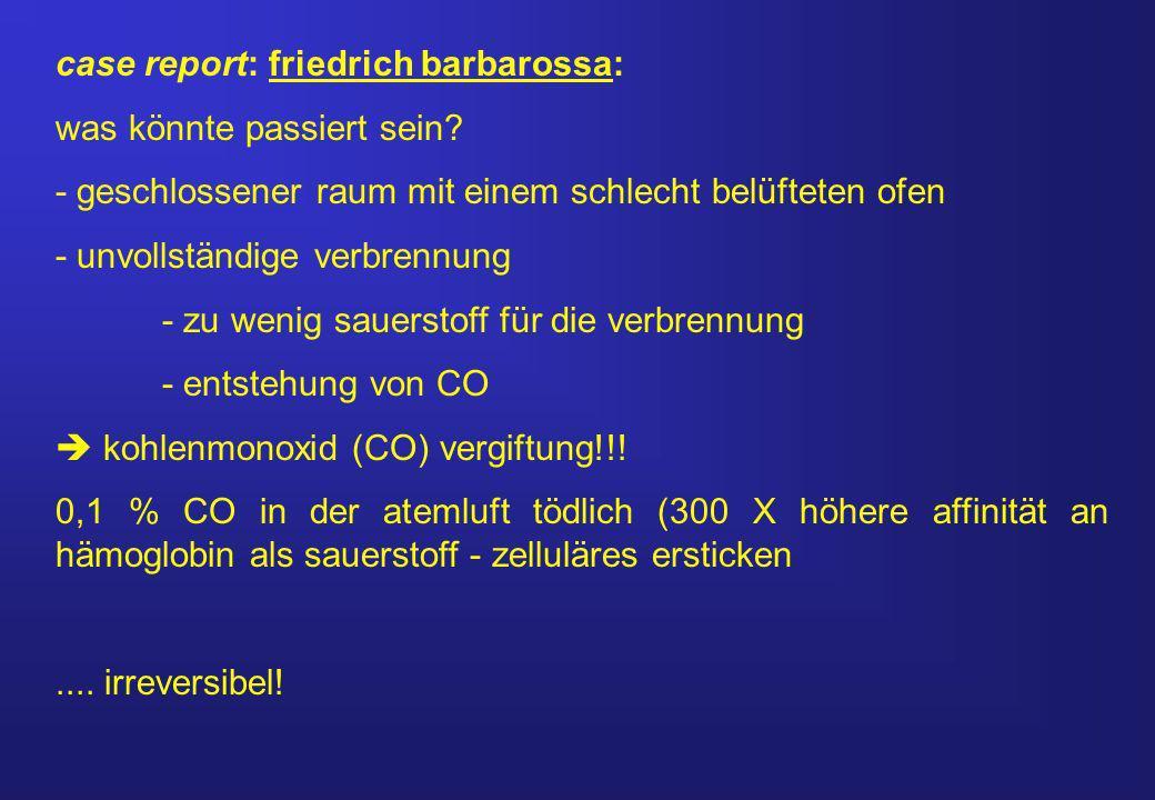 case report: friedrich barbarossa: was könnte passiert sein.