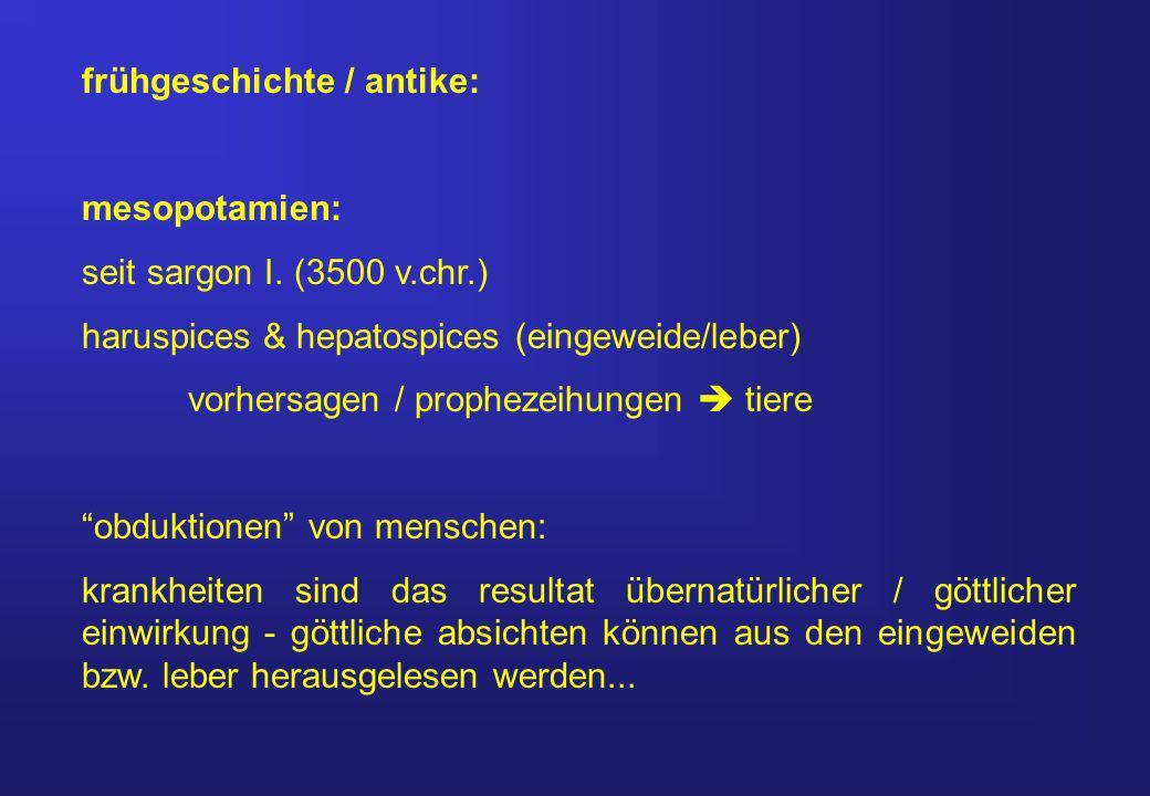 frühgeschichte / antike: mesopotamien: seit sargon I.