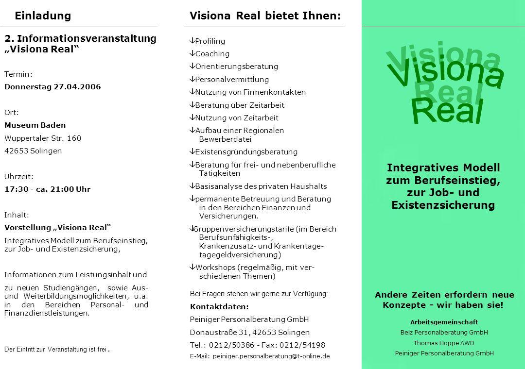 Programm & Referenten Unser Angebot Konzept Das Hausarzt-Modell für den Berufseinstieg und das gesamte Berufsleben.