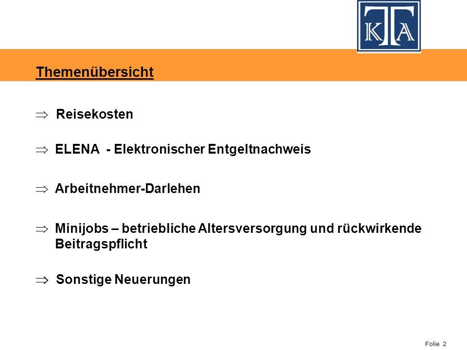 Folie 33 Beispiel 2: Der Arbeitnehmer erhält ein unverzinsliches AG-Darlehen von 15.000.