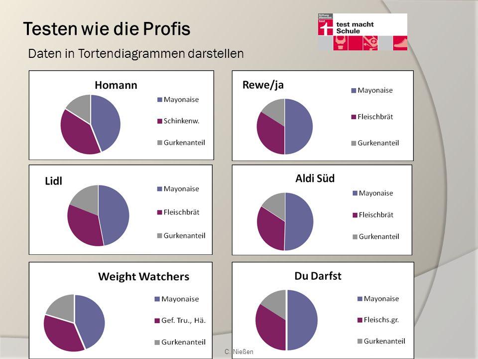 Testen wie die Profis Daten in Tortendiagrammen darstellen C. Nießen
