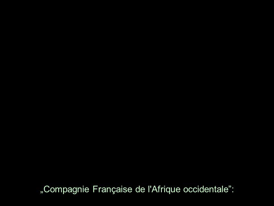 Compagnie Française de l'Afrique occidentale: