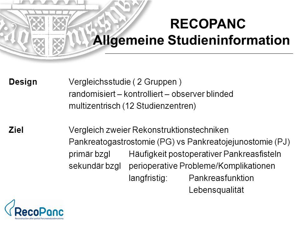 innerhalb von 5 Tagen anStudienleitung(Prof.Hopt, Prof.