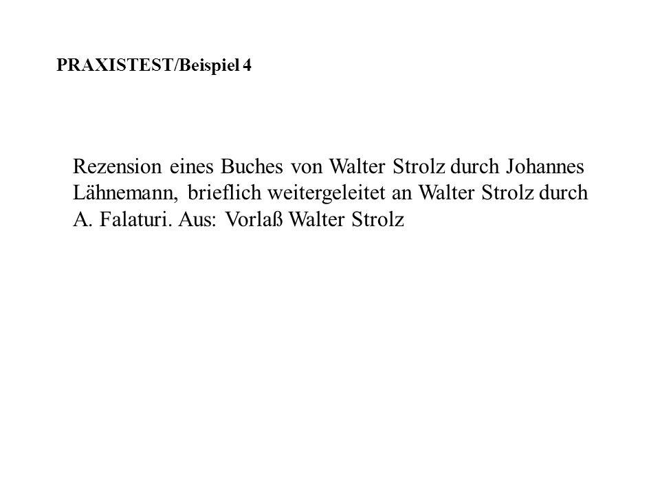 Rezension eines Buches von Walter Strolz durch Johannes Lähnemann, brieflich weitergeleitet an Walter Strolz durch A. Falaturi. Aus: Vorlaß Walter Str