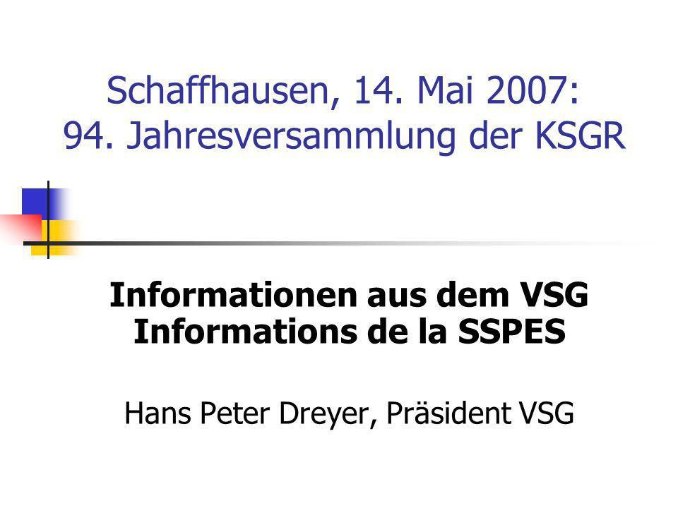 Schaffhausen, 14. Mai 2007: 94.