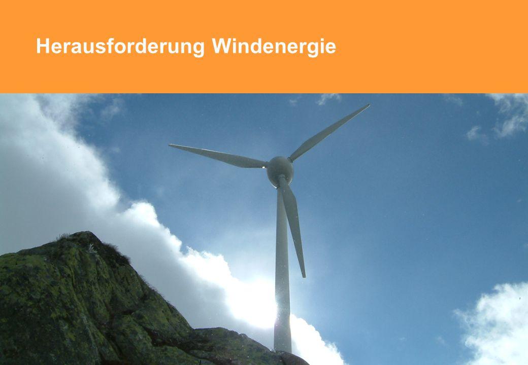 Herausforderung Windenergie © Suisse Eole