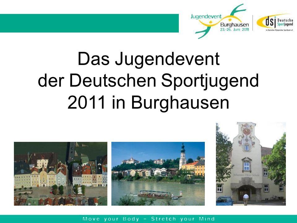Das Jugendevent der Deutschen Sportjugend 2011 in Burghausen