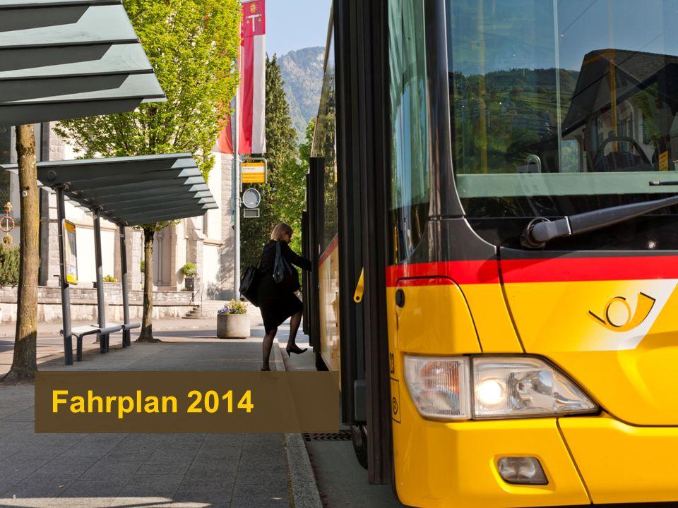 Fahrplan 2014