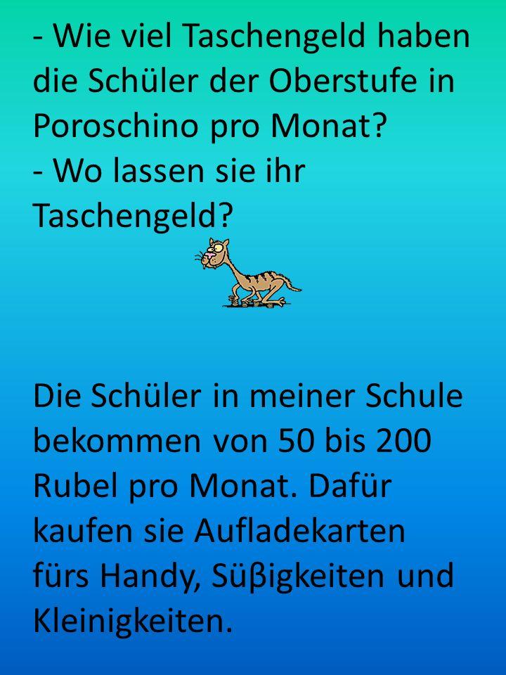 Taschengeld Glaubt man den Statistiken, so bekommt ein Jugendlicher in Deutschland im Durchschnitt von 10 bis 45 Euro Taschengeld im Monat. Die deutsc