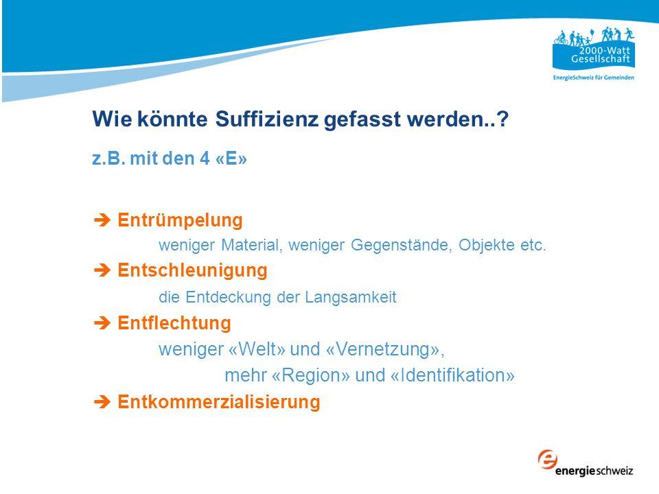 2000-Watt-Gesellschaft Legitimation / Herleitung 1.Es gibt Grenzen.