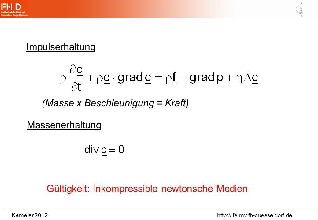 Kameier 2012 http://ifs.mv.fh-duesseldorf.de radiale_druckgleichung_arbeitsbogen140508.doc Ein- und Ausströmvorgänge (Beispiel: Atmen) aus: ANSYS Advantage, Volume II, Issue I, 2008