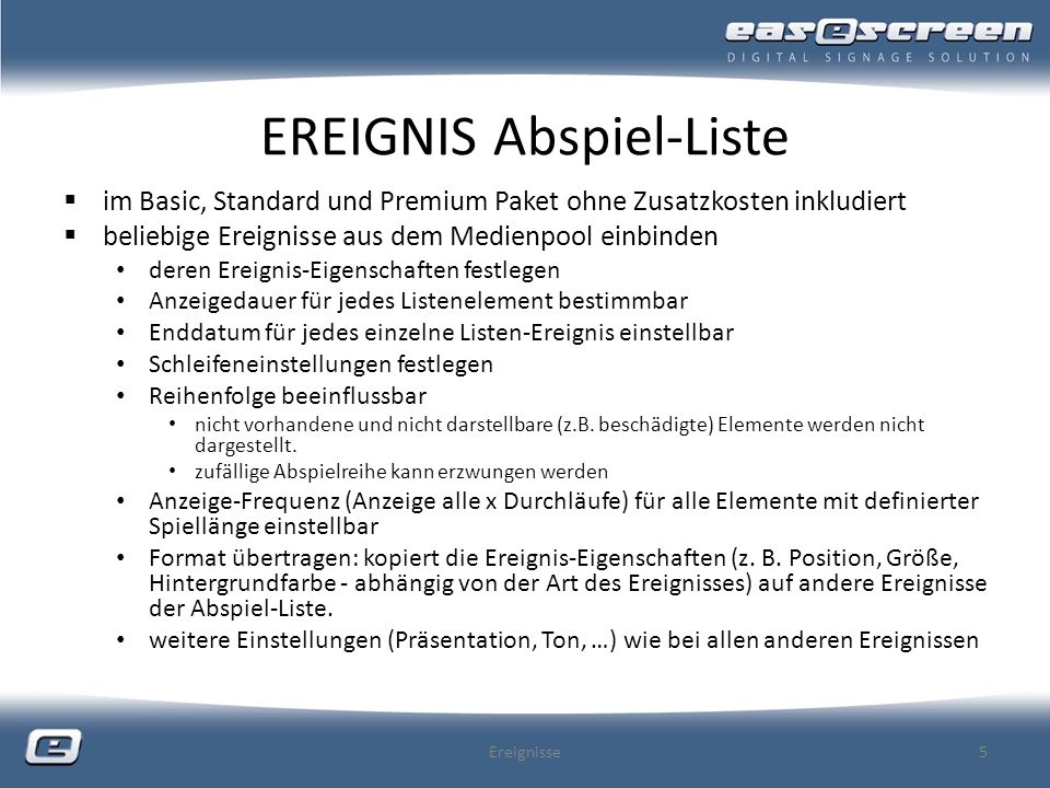 EREIGNIS Remote Desktop nur im Premium Paket (ohne Aufpreis) enthalten Clientdarstellung (eines fremden Desktops) als Ereignis beim Einsatz von VNC immer auf Sicherheit Bedacht nehmen.