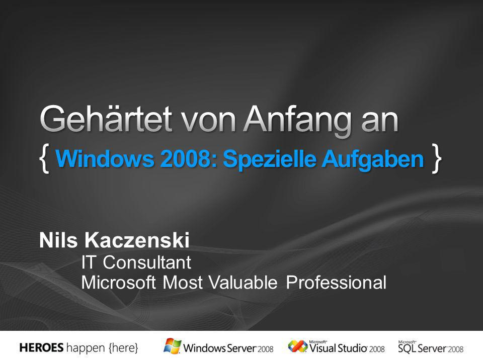 Nils Kaczenski IT Consultant Microsoft Most Valuable Professional