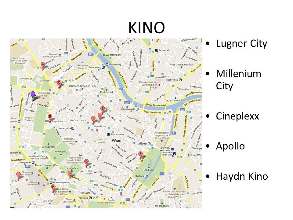 KINO Lugner City Millenium City Cineplexx Apollo Haydn Kino