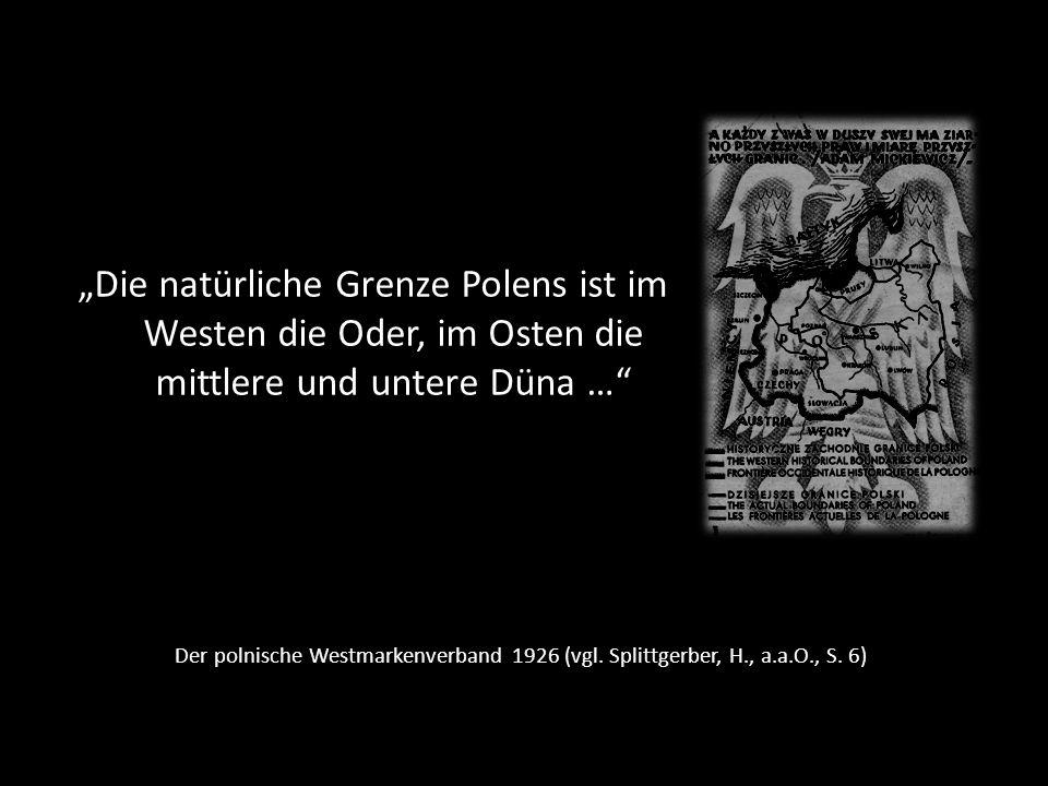 Kaschubisches Sprichwort über die Qualität der Lebensverhältnisse unter Deutschen und Polen (David L.