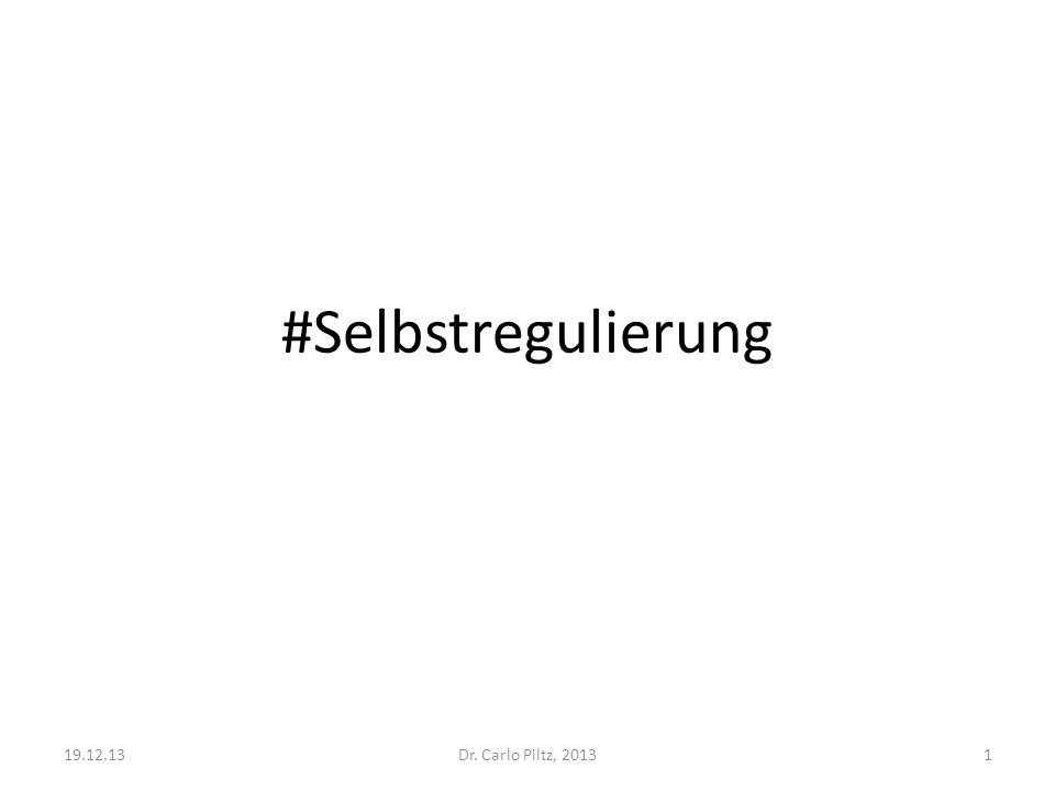 #Selbstregulierung Dr. Carlo Piltz, 201319.12.131