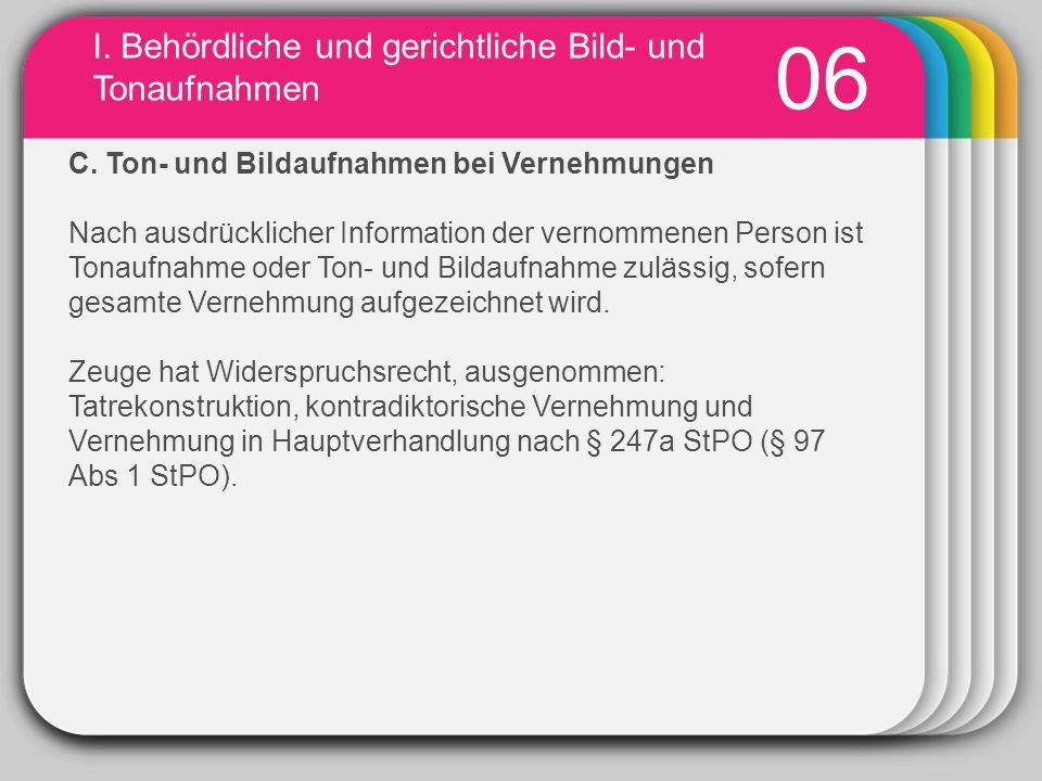 WINTER Template I.Behördliche und gerichtliche Bild- und Tonaufnahmen 07 2.