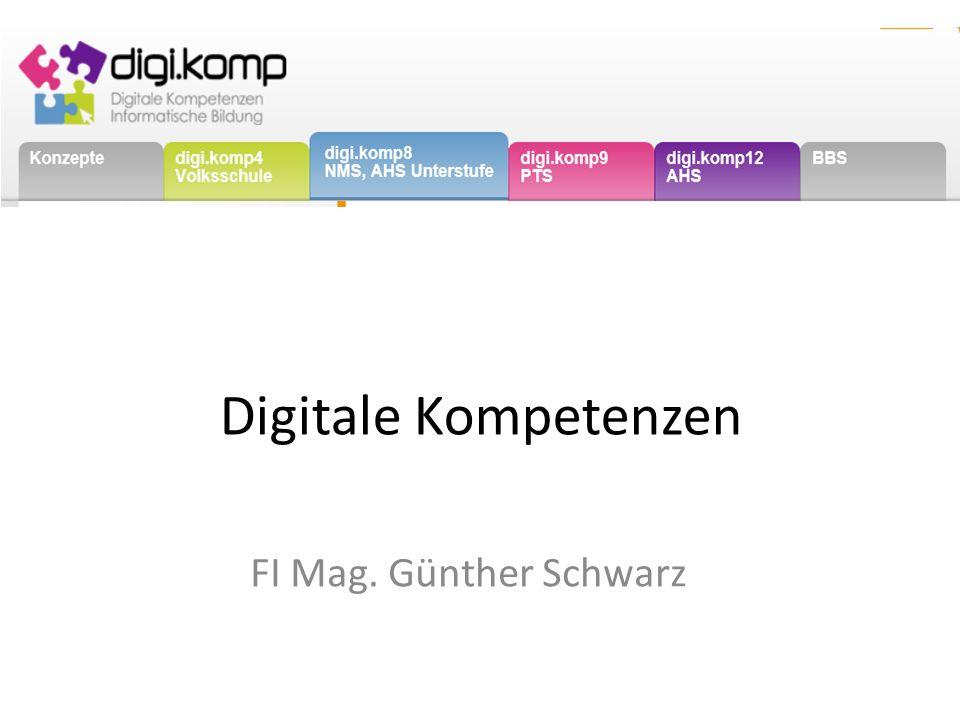 Digitale Kompetenzen FI Mag. Günther Schwarz