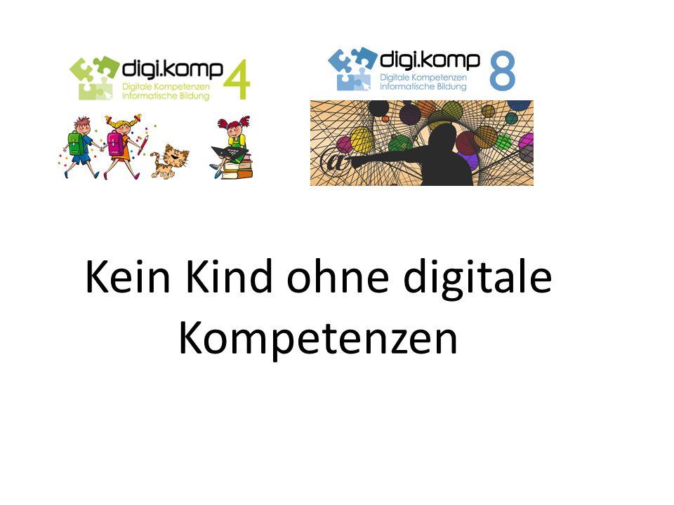 Kein Kind ohne digitale Kompetenzen