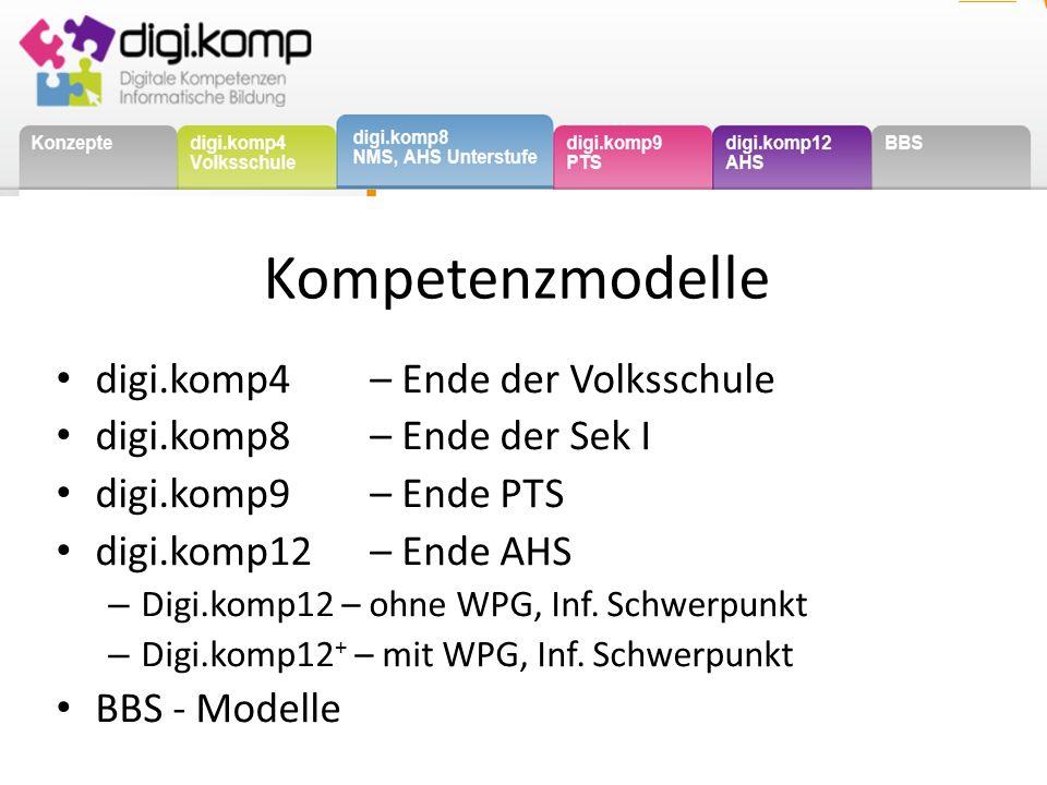 http://www.digikomp.at Ab Ende Oktober 2013 http://www.edugroup.at/praxis/portale/digitale-kompetenzen/konzepte.html