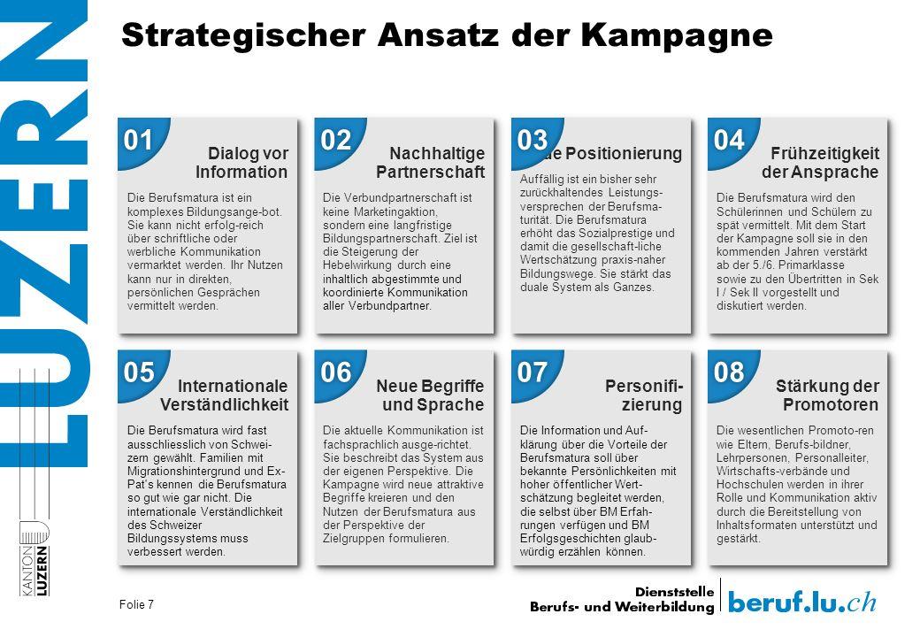 Strategischer Ansatz der Kampagne Folie 7