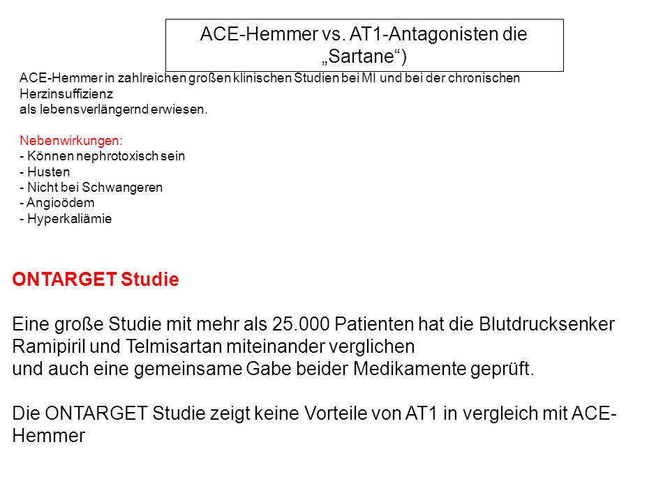 ACE-Hemmer vs.