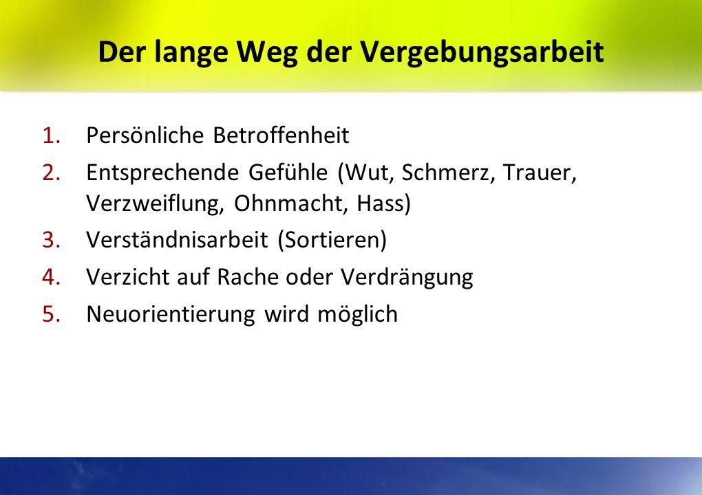 Die posttraumatische Verbitterungsstörung Beschrieben von Prof. Dr. M. Linden, Berlin Wut und Enttäuschung. Den Betroffenen gelingt es nicht, mit eine