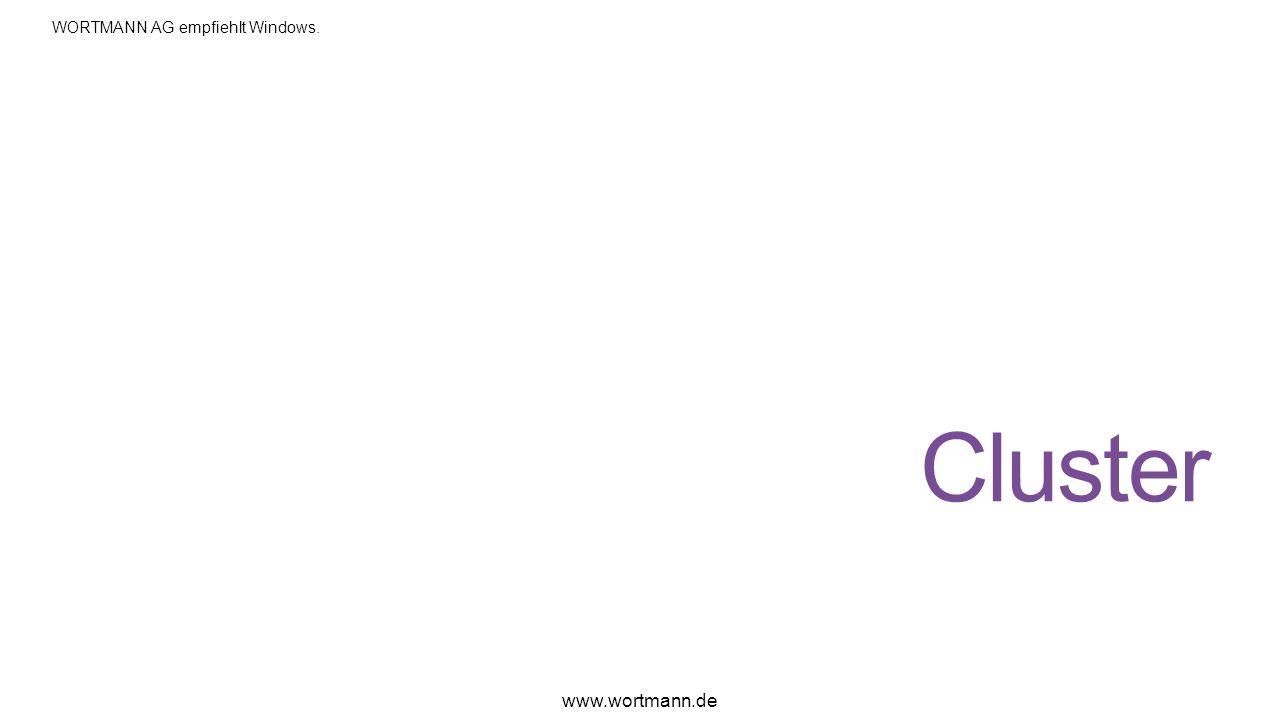 Cluster www.wortmann.de WORTMANN AG empfiehlt Windows.