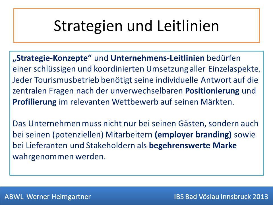 Strategien und Leitlinien Strategie-Konzepte und Unternehmens-Leitlinien bedürfen einer schlüssigen und koordinierten Umsetzung aller Einzelaspekte. J