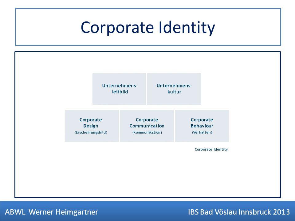 Corporate Identity ABWL Werner Heimgartner IBS Bad Vöslau Innsbruck 2013