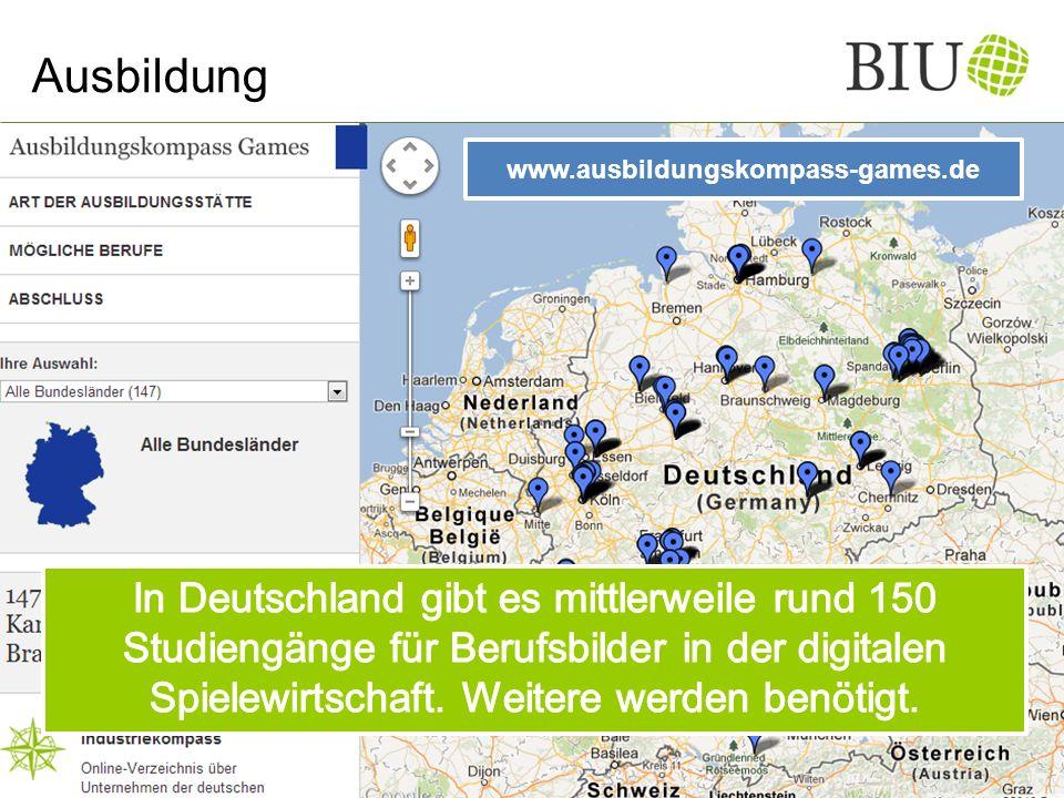 Ausbildung www.ausbildungskompass-games.de