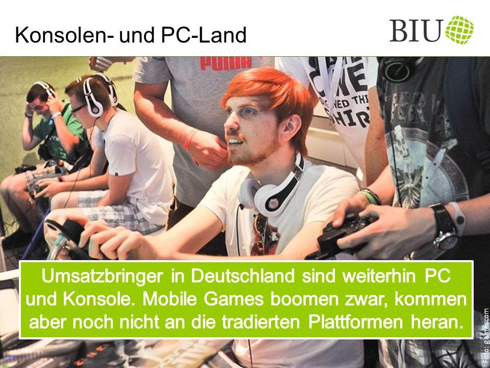 Konsolen- und PC-Land Foto: gamescom