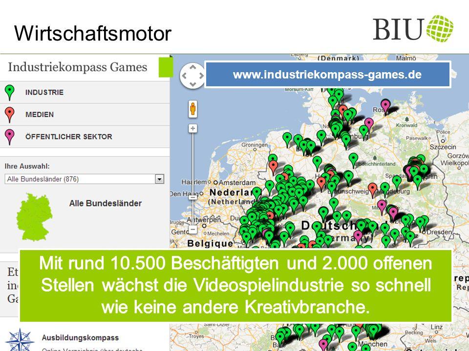 Wirtschaftsmotor www.industriekompass-games.de