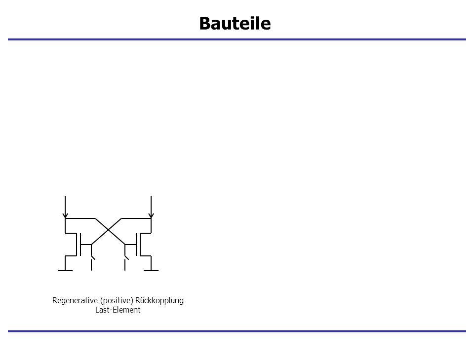 Bauteile Regenerative (positive) Rückkopplung Last-Element