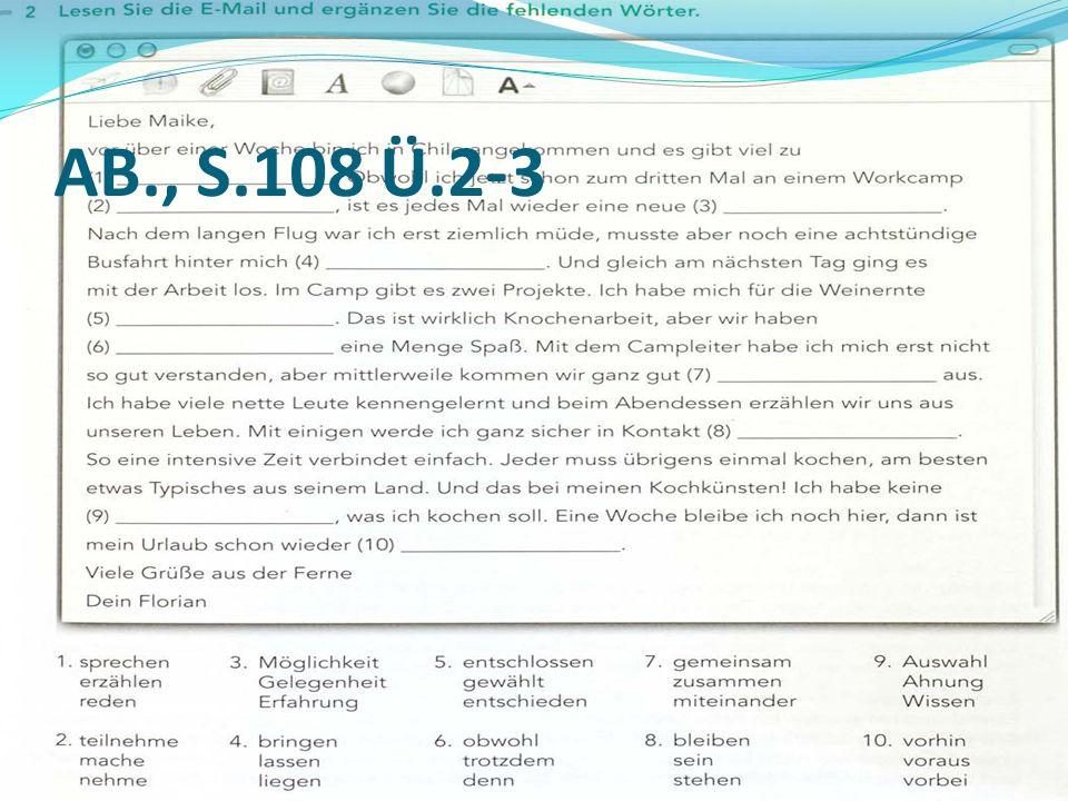 AB., S.108 Ü.2-3