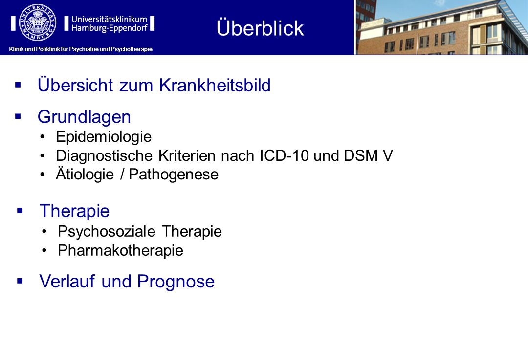 Klinik und Poliklinik für Psychiatrie und Psychotherapie Alte Neuroleptika, z.B.